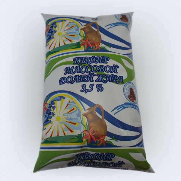Kefir 3,5% polythene bag
